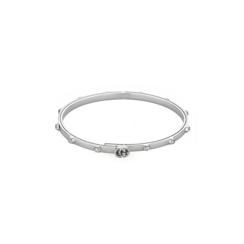 Gucci GG Running Bracelet in White Gold - YBA554573001016 - CH Premier Jewelers