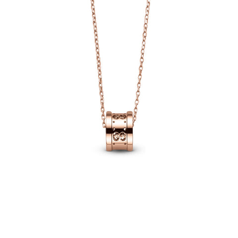 Gucci Icon Twirl Necklace in Rose Gold - YBB21416900100U - CH Premier Jewelers