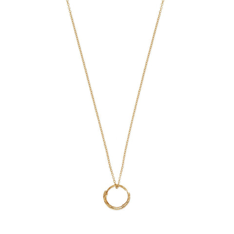 Gucci Snake Ring Pendant Necklace in Gold - YBB46199400100U - CH Premier Jewelers