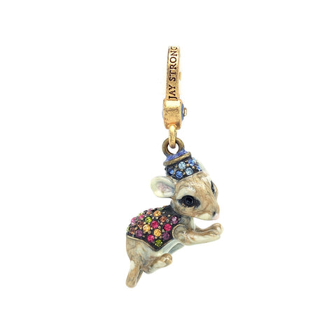 Jay Strongwater Mouse Charm - SJ9082452 - CH Premier Jewelers