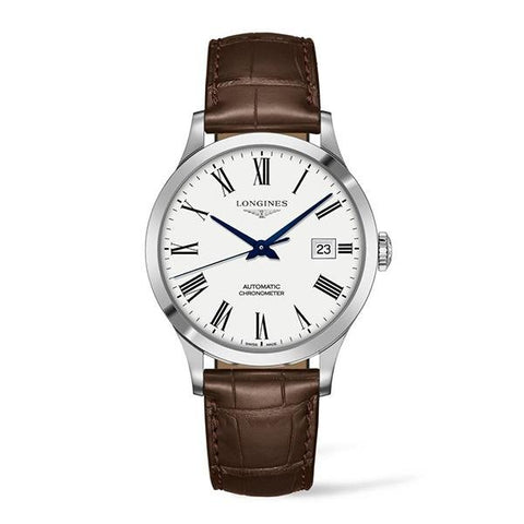 Longines Record Automatic - L2.821.4.11.2 - CH Premier Jewelers