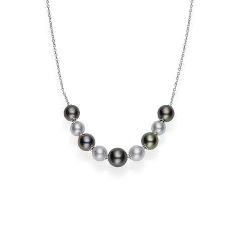 Mikimoto Pearls in Motion Necklace - MPQ10100ZXXW - CH Premier Jewelers