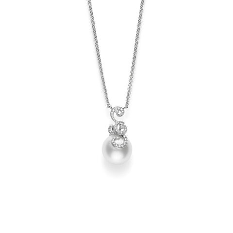 Mikimoto White South Sea Cultured Pearl Necklace - MPA10231NDXW - CH Premier Jewelers