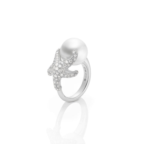 Mikimoto White South Sea Cultured Pearl Ring - PRE564NDW - CH Premier Jewelers