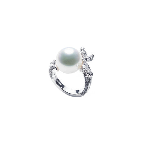 Mikimoto White South Sea Cultured Pearl Ring - PRE659NDW2933 - CH Premier Jewelers