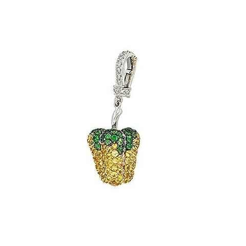 Yellow Sapphire Pepper Charm - OPEJL00141 - CH Premier Jewelers