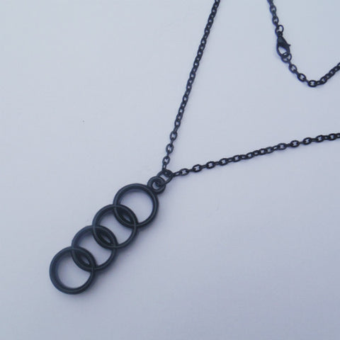 AUDI Logo Necklace Pendant