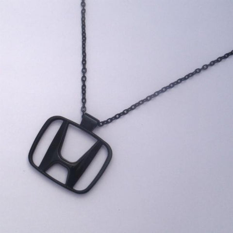 Honda Black Necklace