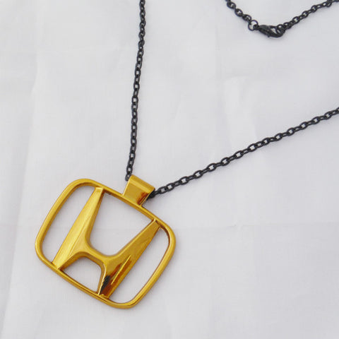 Honda Gold Necklace Pendant