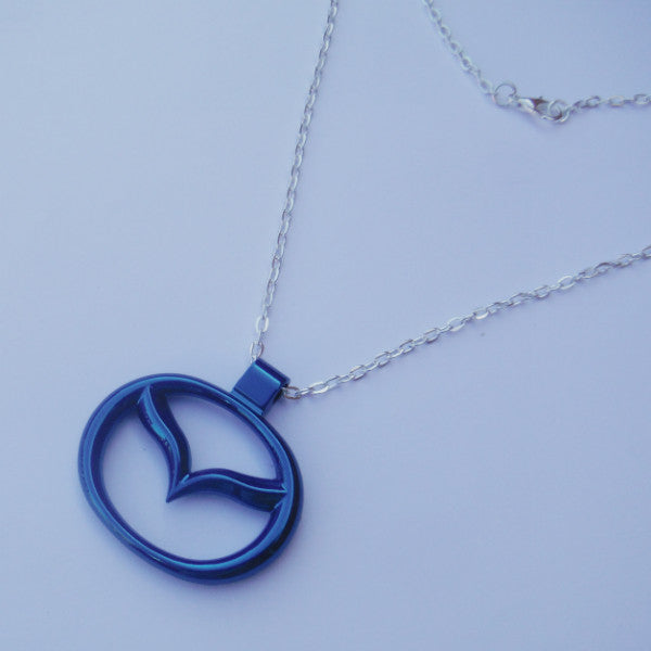 Mazda Blue Pendant Mirror Dangler