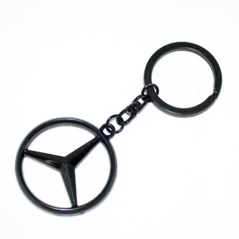 Mercedes Benz Merc Keyring Black