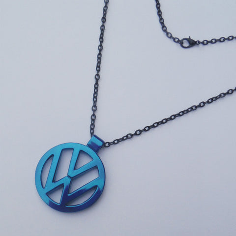 VW Blue Green Necklace