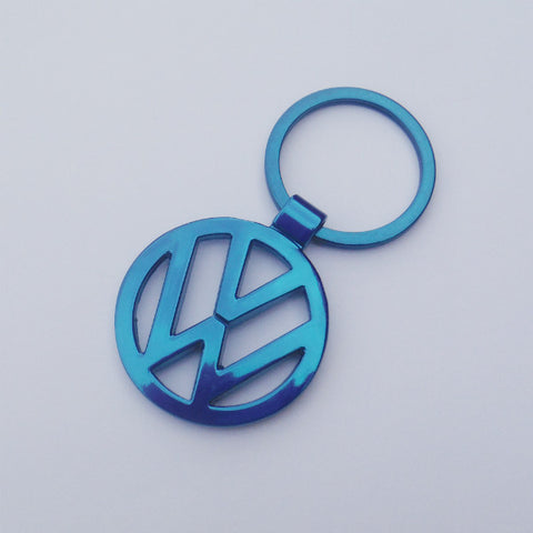 VW Volkswagen Blue Key Chain