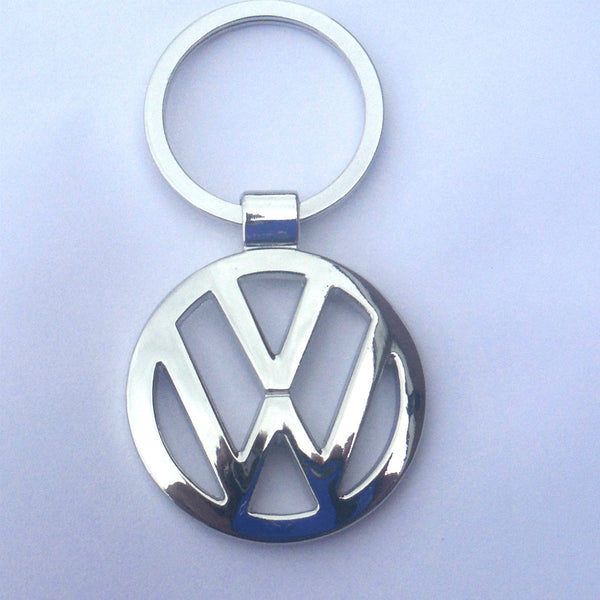 VW Volkswagen Key Chain Chrome