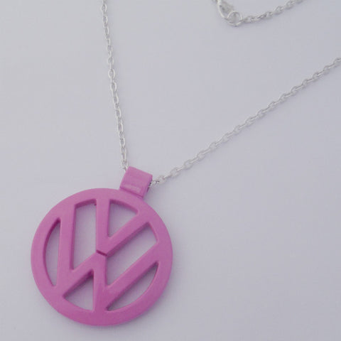 VW Pink Necklace