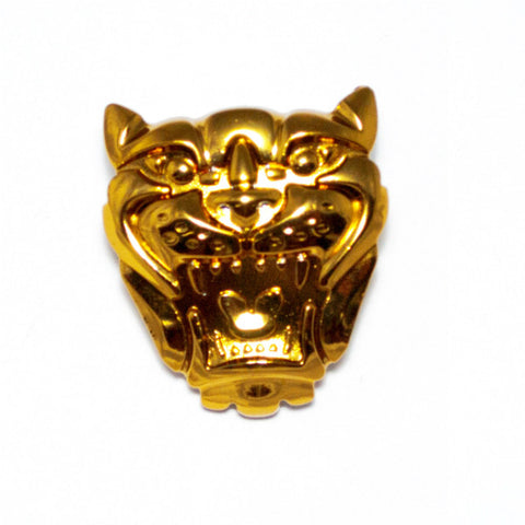 Jaguar Grill Badge Gold