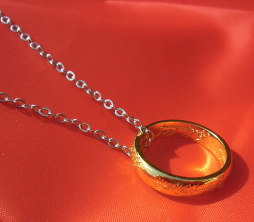 Lord of the Rings - Necklace Silver Chain