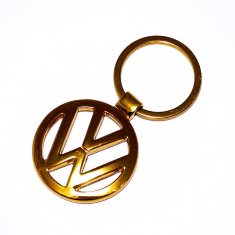 VW Volkswagen Gold Key Chain