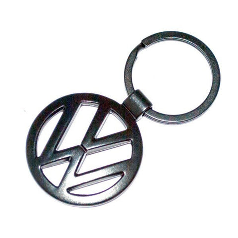 VW Volkswagen Black Satin Keyring.