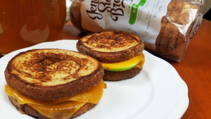 Cinnamon, Apple and Cheddar Grilled Cheese