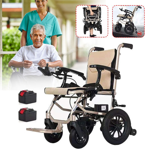 Heavy Duty Lightweight Mobility Folding Power Chair