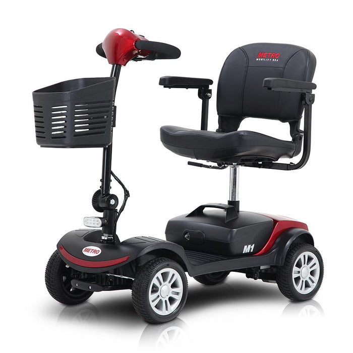 Four Wheeled Electric Scooter For The Elderly Disabled