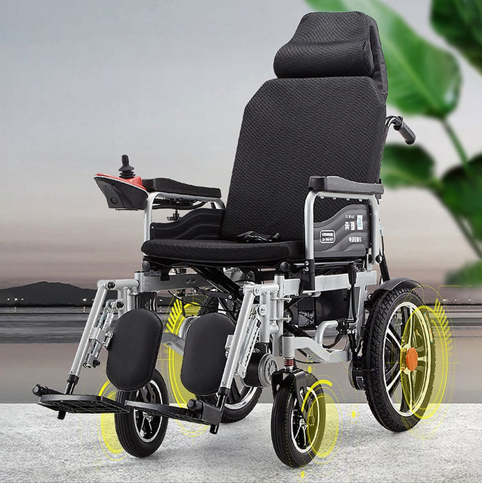 Electric Foldable Automatic Intelligent Wheel Chair