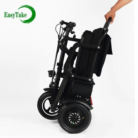 3 wheel lithium battery fold electric mobility scooter