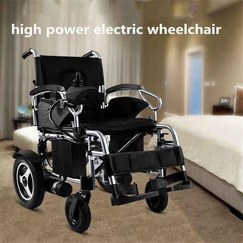 Adjustable Joystick Electric Power Wheelchair