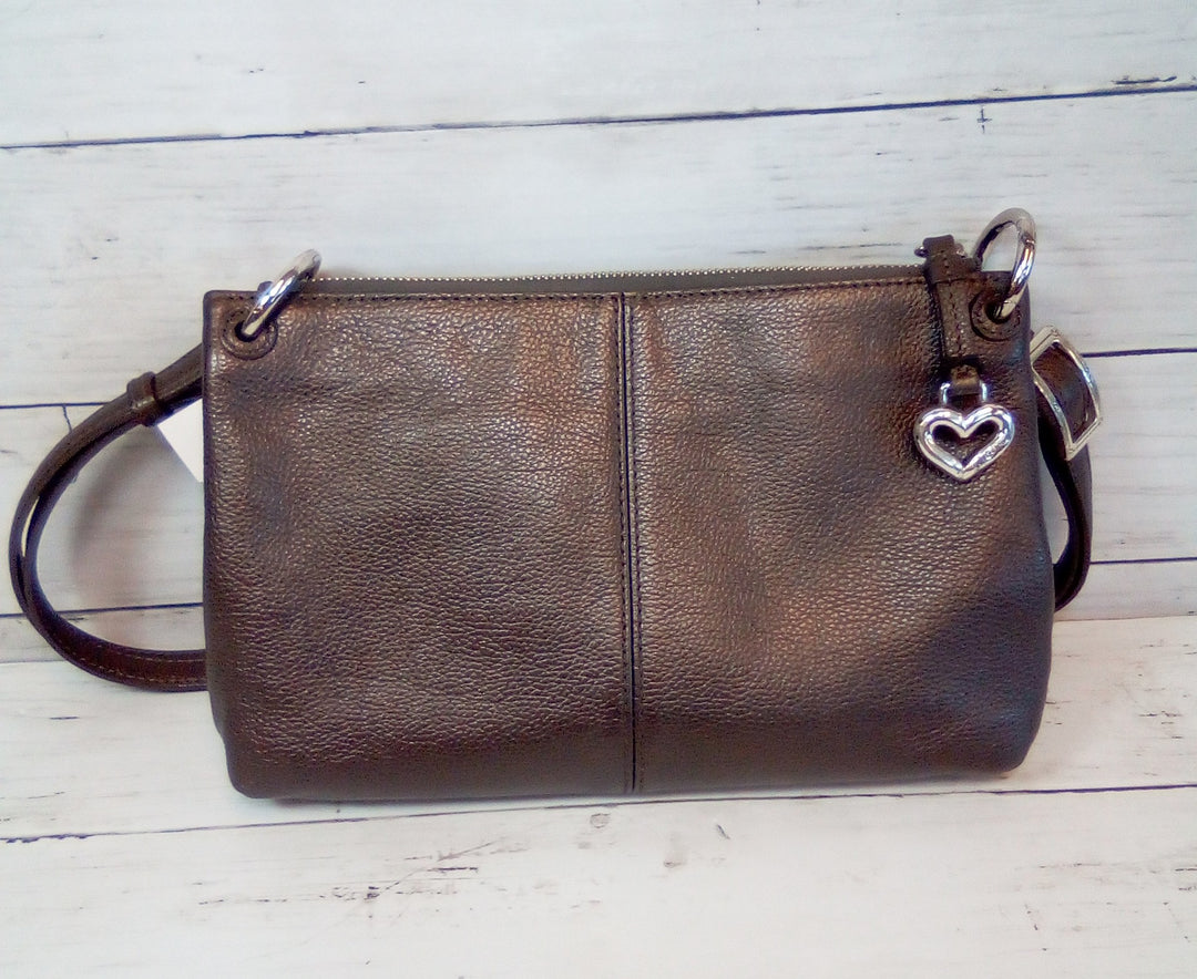Photo #1 - BRAND: BRIGHTON <BR>STYLE: HANDBAG LEATHER <BR>COLOR: TAUPE <BR>SIZE: SMALL <BR>SKU: 216-21638-64379