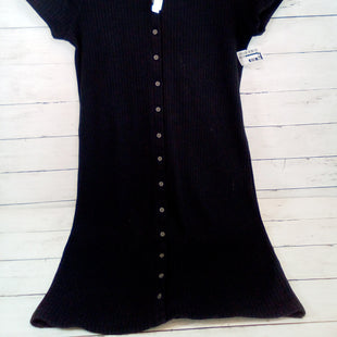 Primary Photo - BRAND: MADEWELL STYLE: DRESS SHORT SHORT SLEEVE COLOR: BLACK SIZE: M OTHER INFO: NEW! SKU: 216-21638-64935