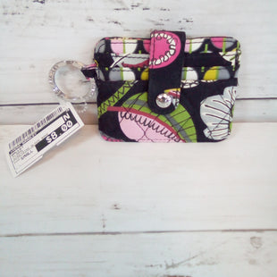 Primary Photo - BRAND: VERA BRADLEY STYLE: WALLET COLOR: FLORAL SIZE: SMALL OTHER INFO: W/KEYRING BLACK BASE SKU: 216-21638-64828