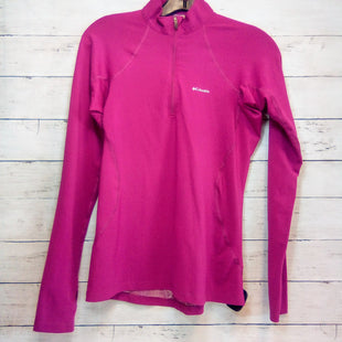 Primary Photo - BRAND: COLUMBIA STYLE: ATHLETIC TOP COLOR: FUSCHIA SIZE: M OTHER INFO: HALFZIP SKU: 216-21638-66665