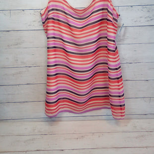 Primary Photo - BRAND: CABI STYLE: TOP SLEEVELESS COLOR: STRIPED SIZE: S OTHER INFO: NEW!   PINK/RED/BLK SKU: 216-21612-88007