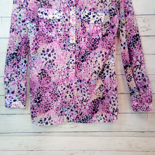 Primary Photo - BRAND: DANA BUCHMAN STYLE: BLOUSE COLOR: MULTI SIZE: S OTHER INFO: PINK/BLK/WHITE SKU: 216-21612-80501