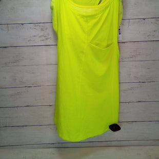 Primary Photo - BRAND: LULULEMON STYLE: ATHLETIC TANK TOP COLOR: NEON SIZE: XS OTHER INFO: 2 YELLOW SKU: 216-21638-62482