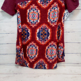 Primary Photo - BRAND: MEADOW RUE STYLE: TOP SHORT SLEEVE COLOR: MAROON SIZE: XS SKU: 216-21612-88224