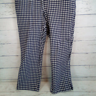 Primary Photo - BRAND: ANTHROPOLOGIE STYLE: CAPRIS COLOR: CHECKED SIZE: 2 OTHER INFO: BLACK/WHITE SKU: 216-21638-64984