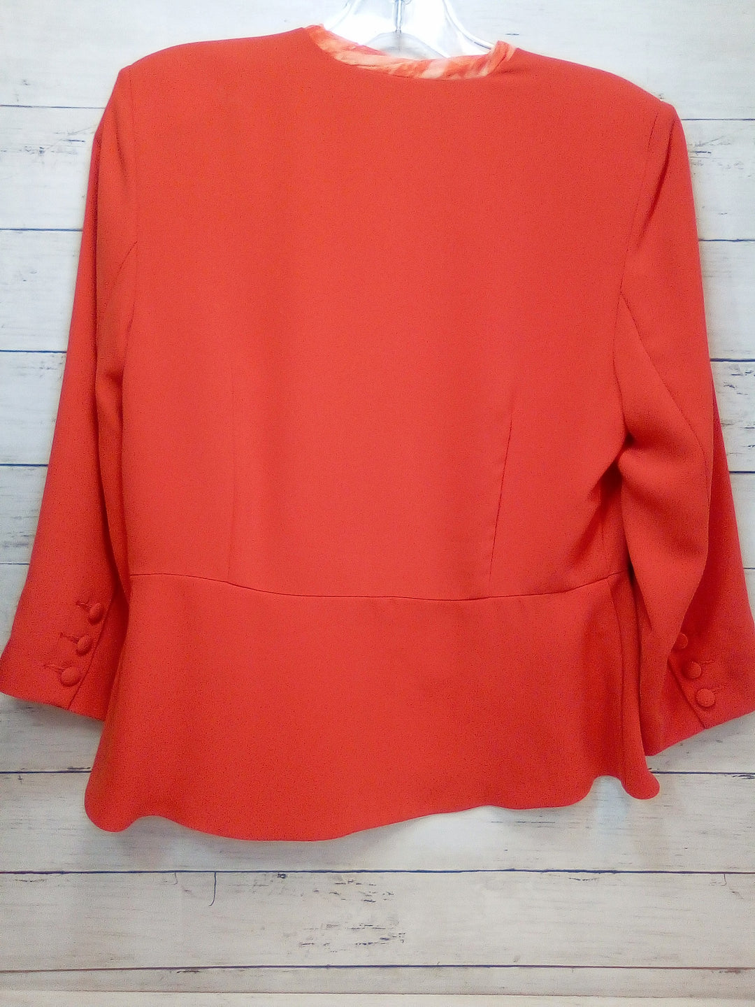 Photo #1 - BRAND: CABI <BR>STYLE: BLAZER JACKET <BR>COLOR: ORANGE <BR>SIZE: S <BR>SKU: 216-21644-14938