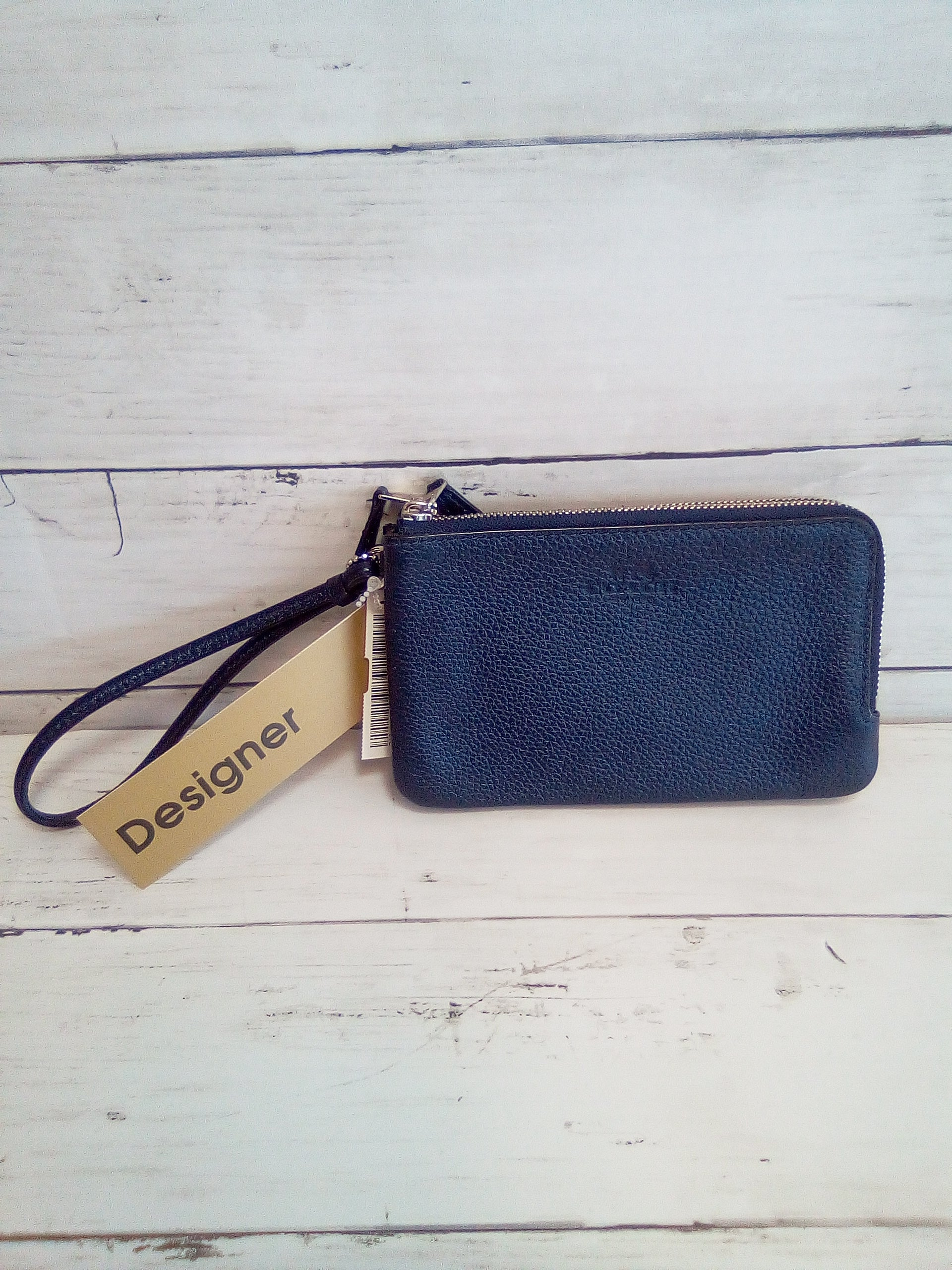 Primary Photo - BRAND: COACH <BR>STYLE: WRISTLET <BR>COLOR: BLUE <BR>OTHER INFO: DOUBLE CORNER ZIPAROUND <BR>SKU: 216-21638-65343
