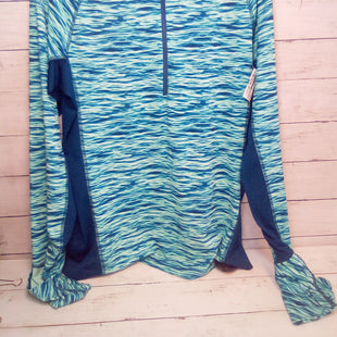 Primary Photo - BRAND: PATAGONIA STYLE: ATHLETIC TOP COLOR: MULTI SIZE: XL OTHER INFO: BLUE/MINT SKU: 216-21638-66386
