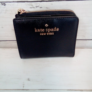 Primary Photo - BRAND: KATE SPADE STYLE: WALLET COLOR: BLACK SIZE: SMALL OTHER INFO: NEW! SKU: 216-21638-64832