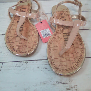 Primary Photo - BRAND: SAM AND LIBBY STYLE: SANDALS FLAT COLOR: NUDE SIZE: 8 OTHER INFO: NEW! SKU: 216-21612-86537