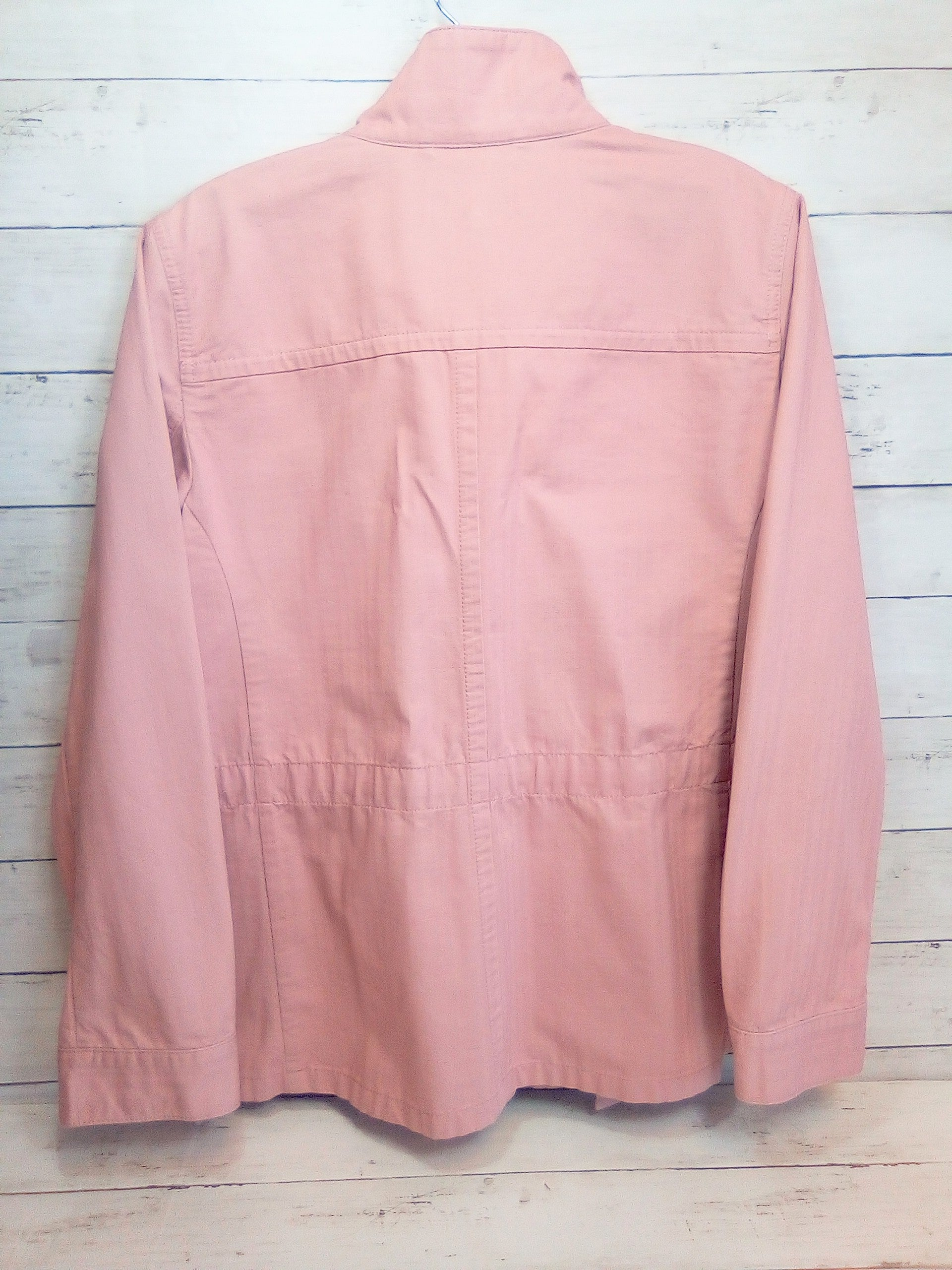 Photo #1 - BRAND: TALBOTS <BR>STYLE: BLAZER JACKET <BR>COLOR: SALMON DUSTY PINK<BR>SIZE: M <BR>SKU: 216-21638-59346