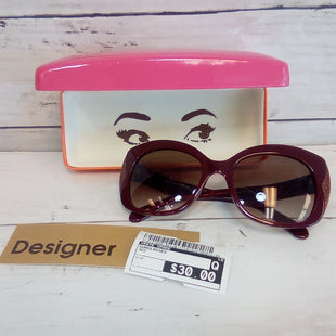 Primary Photo - BRAND: KATE SPADE STYLE: SUNGLASSES COLOR: RED SKU: 216-21695-351