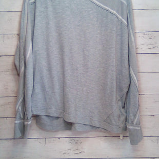Primary Photo - BRAND: FREE PEOPLE STYLE: TOP LONG SLEEVE COLOR: GREY SIZE: XS SKU: 216-21638-66559