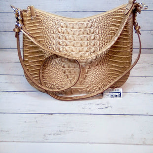 Primary Photo - BRAND: BRAHMIN STYLE: HANDBAG DESIGNER COLOR: TAN SIZE: LARGE OTHER INFO: CONVERTIBLE SHLDR/CRSSBDY SKU: 216-21612-84146