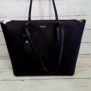 Primary Photo - BRAND: KATE SPADE STYLE: HANDBAG DESIGNER COLOR: BLACK SIZE: LARGE OTHER INFO: MARGAUX TOP ZIP TOTE SKU: 216-21638-64833