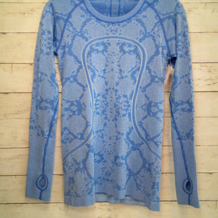 Primary Photo - BRAND: LULULEMON STYLE: ATHLETIC TOP COLOR: LIGHT BLUE SIZE: S OTHER INFO: SIZE 6 SKU: 216-21679-503