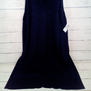 Primary Photo - BRAND: ANTHROPOLOGIE STYLE: TUNIC SHORT SLEEVE COLOR: NAVY SIZE: S OTHER INFO: SLEEVELESS SKU: 216-21638-64934